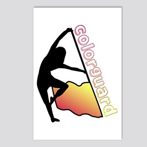 Colorguard Flag Postcards (Package of 8)