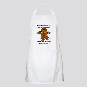 GINGERBREAD MAN! BBQ Apron