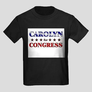 CAROLYN for congress Kids Dark T-Shirt