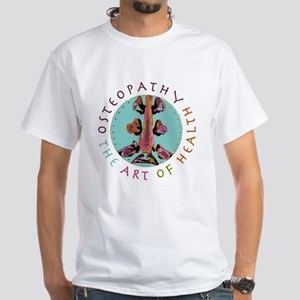 Osteopathy-Art of Health White T-Shirt