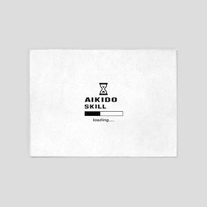 Aikido Skill Loading..... 5'x7'Area Rug