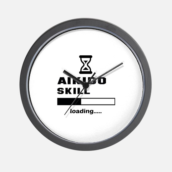 Aikido Skill Loading..... Wall Clock