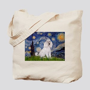 Starry Night / Std Poodle(w) Tote Bag