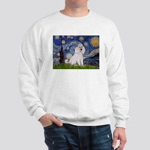 Starry Night / Std Poodle(w) Sweatshirt