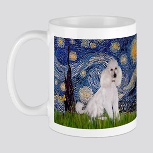 Starry Night / Std Poodle(w) Mug