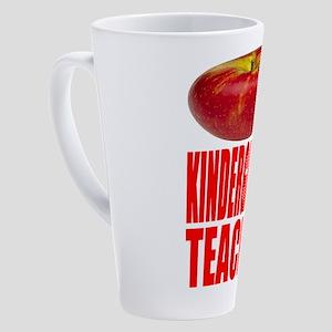 Kindergarten Teacher 17 oz Latte Mug