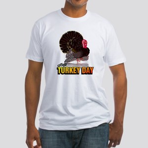 Happy Turkey Day ~ Fitted T-Shirt