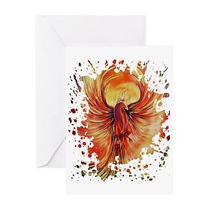 Phoenix greeting cards cafepress m4hsunfo