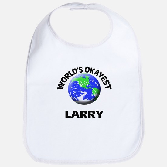 World's Okayest Larry Bib