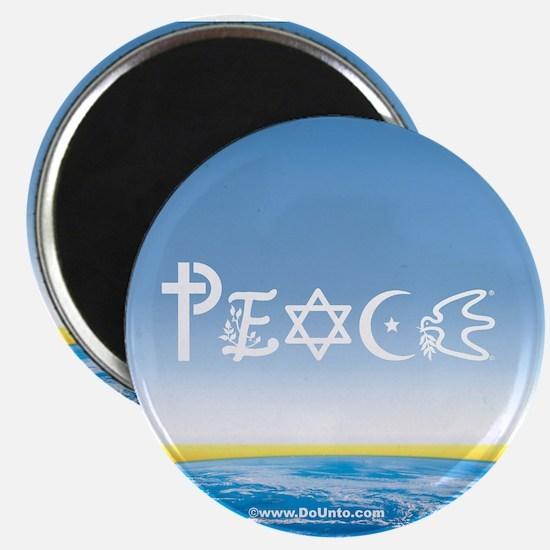 Peace On Earth at Sunrise Magnet
