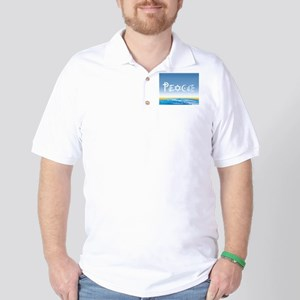 Peace On Earth at Sunrise Golf Shirt