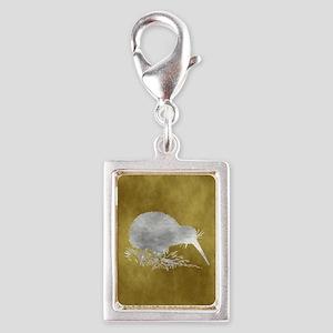 Silver Portrait Charm