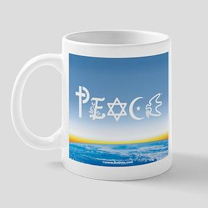 Peace On Earth at Sunrise Mug