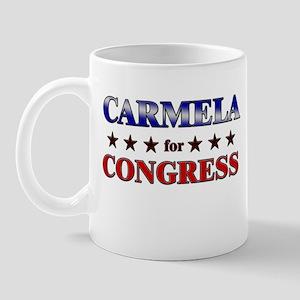 CARMELA for congress Mug