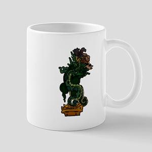 Mayan Serpent God Mugs