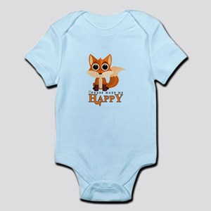 Foxes Make Me Happy Body Suit