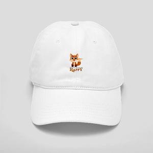 Foxes Make Me Happy Cap