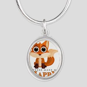 Foxes Make Me Happy Necklaces