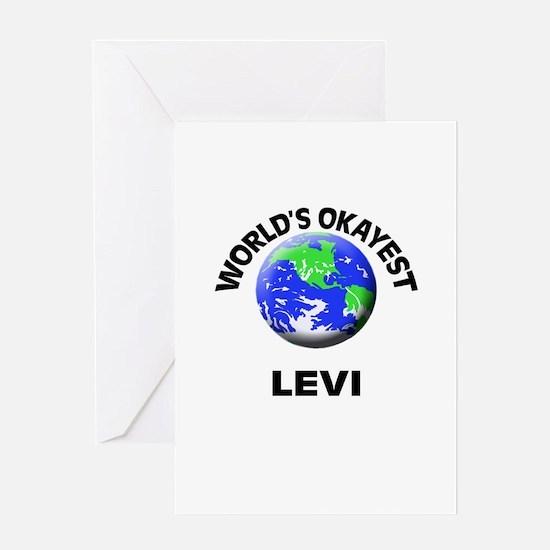 World's Okayest Levi Greeting Cards