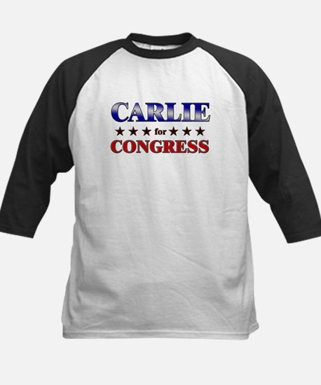 CARLIE for congress Kids Baseball Jersey