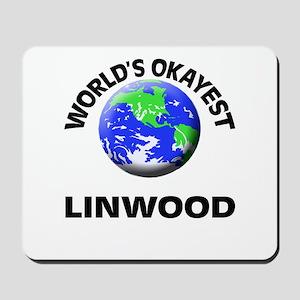 World's Okayest Linwood Mousepad