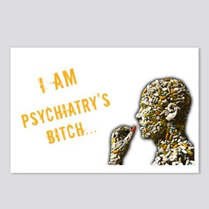Psychiatry's Bitch Postcards (Package of 8)