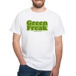 Green Freak White T-Shirt