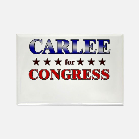 CARLEE for congress Rectangle Magnet