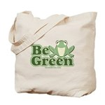 Be Green Tote Bag