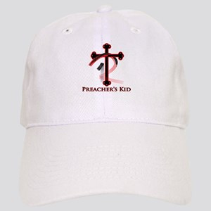 PK Cross (Red/Blk) Logo Cap