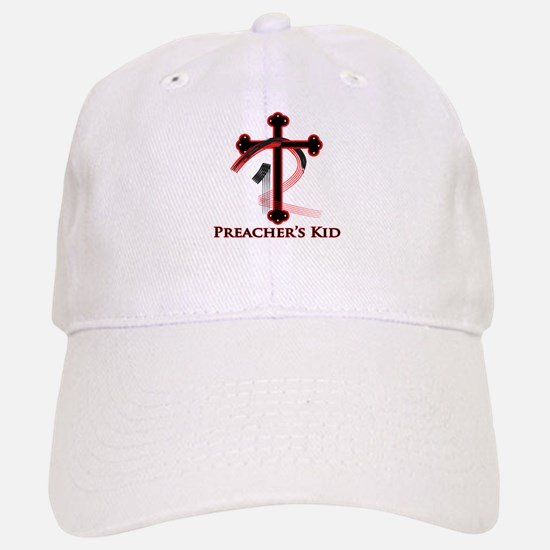 PK Cross (Red/Blk) Logo Baseball Baseball Cap