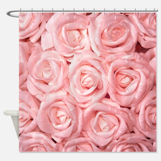 Funny Pink roses Shower Curtain