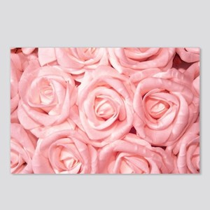 Gorgeous Roses,pink Postcards (Package of 8)