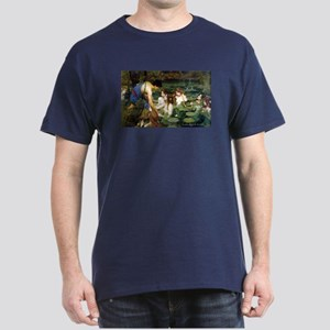 Waterhouse art water nymphs Dark T-Shirt