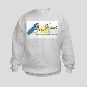 Jesus is the Reason Kids Sweatshirt