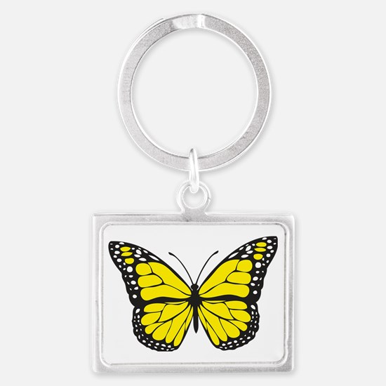 Cool Brights Landscape Keychain