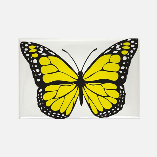 Cute Beautiful butterfly Rectangle Magnet