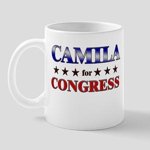CAMILA for congress Mug