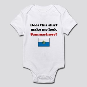 Make Me Look Sammarinese Infant Bodysuit