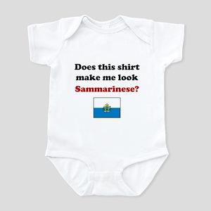Make Me Look Sammarinese Infant Bodysuit