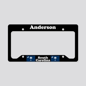 Anderson SC - LPF License Plate Holder