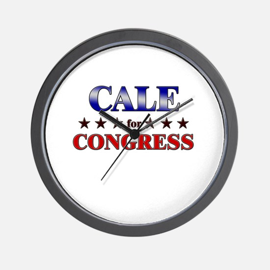 CALE for congress Wall Clock