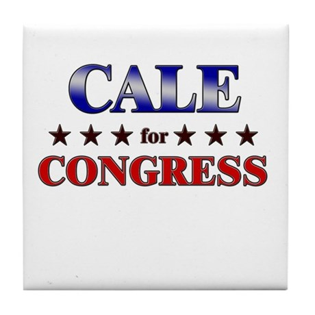 CALE for congress Tile Coaster