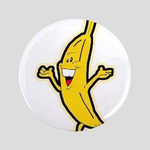 "Dancing Banana 3.5"" Button"