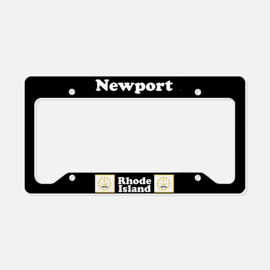 Newport RI - LPF License Plate Holder