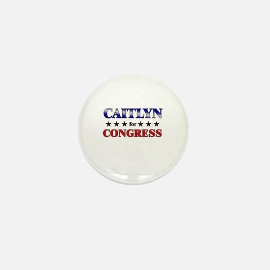 CAITLYN for congress Mini Button