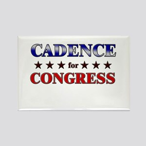 CADENCE for congress Rectangle Magnet