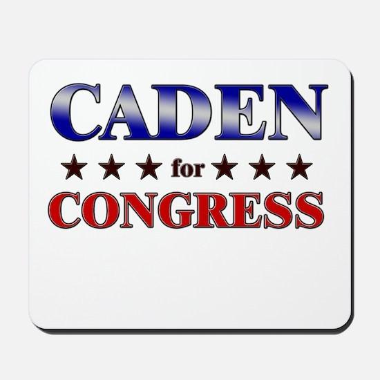 CADEN for congress Mousepad