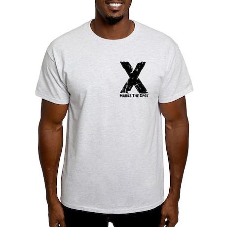 X Marks The Spot! Dressage Pirate Light T-Shirt