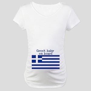 Greek Maternity T-Shirt